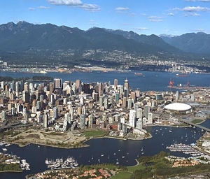 vancouver_letecky_pohled